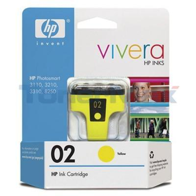 HP NO 02 INK YELLOW 